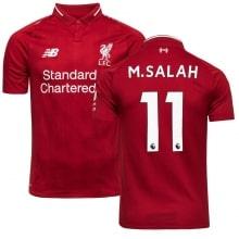 Домашняя футболка Ливерпуля 2018-2019 Мохаммед Салах