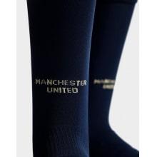Взрослая третья формы Манчестер Юнайтед 2018-2019 гетры вблизи