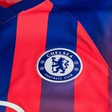 Третья игровая футболка Челси Тимо Вернер 2020-2021 герб клуба