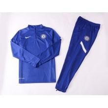 Сине-белый тренировочный костюм Челси 2021-2022