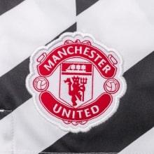 Комплект детской третьей формы Манчестер Юнайтед 2020-2021 шорты герб клуба