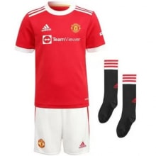 Детская домашняя форма Ман Юнайтед 2021-2022