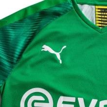 Вратарская домашняя футболка Боруссии Дортмунд 2019-2020 герб бренд