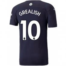 Третья футболка Манчестер Сити 21-22 Джек Грилиш
