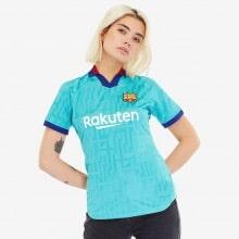 Женская третья футболка Барселоны 2019-2020 спереди