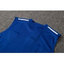 Синяя тренировочная форма Бока Хуниорс 2021-2022 футболка сзади