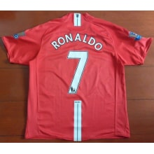 Домашняя футболка Манчестер Юнайтед 2007-2008 RONALDO 7