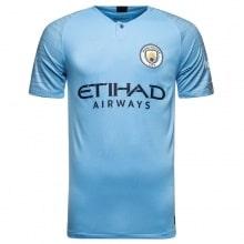 Домашняя игровая футболка Манчестер Сити 2018-2019