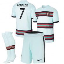 Детская гостевая форма Португалии Роналду на ЕВРО 20-21