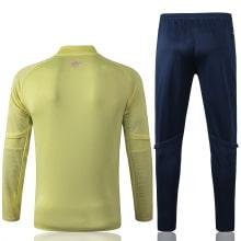Желтый спортивный костюм Арсенал 2021-2022 сзади