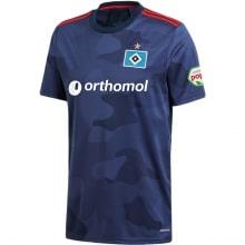 Гостевая игровая футболка Гамбург 2020-2021