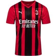 Домашняя аутентичная футболка Милана 2021-2022