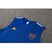 Синяя тренировочная форма Бока Хуниорс 2021-2022 футболка