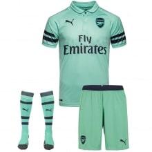 Комплект взрослой третьей формы Арсенала 2018-2019 футболка шорты и гетры