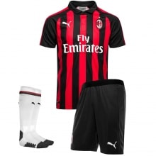 Комплект взрослой домашней формы Милан 2018-2019