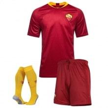 Комплект взрослой домашней формы Рома 2018-2019 футболка щорты и гетры