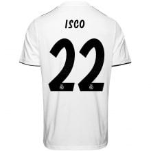 Домашняя футболка Реал Мадрид 2018-2019 Иско номер 22