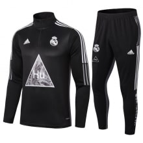 Черно-серый костюм Реал Мадрид 2021-2022