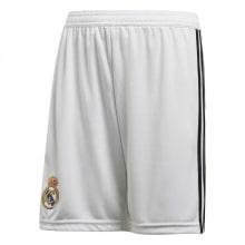 Взрослая домашняя форма Реал Мадрид 18-19 c длинными рукавами шорты