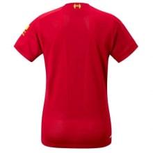 Женская домашняя футболка Ливерпуля 2019-2020 сзади