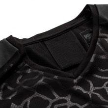 Комплект взрослой гостевой формы Марселя 2019-2020 футболка воротник