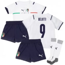 Детская четвертая форма Италии Белотти ЕВРО 2020-21