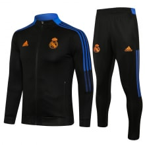 Черно-синий костюм Реал Мадрид 2021-2022