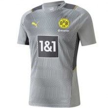 Серая тренировочная футболка Боруссии Дортмунд 2021-2022
