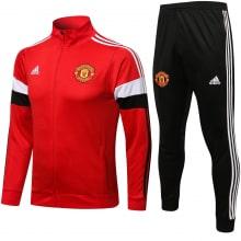 Красно-черный костюм Манчестер Юнайтед 2021-2022