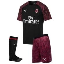 Взрослая третья футбольная форма Милана 2018-2019