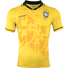 Домашняя ретро футболка сборной Бразилии 1994