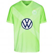 Домашняя игровая футболка Вольфсбурга 2020-2021