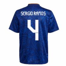 Гостевая футболка Реал Мадрид 2021-2022 Серхио Рамос