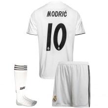 Детская домашняя футбольная форма Лука Модрич 2018-2019
