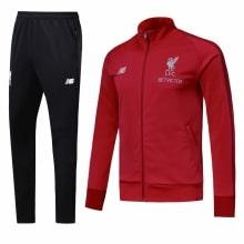 Красно-черный тренировочный костюм Ливерпуля 2018-2019