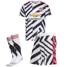 Комплект взрослой третьей формы Ман Юнайтед 2020-2021