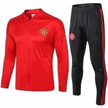 Взрослый красно-черный костюм Манчестер Юнайтед 2018-2019