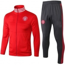Взрослый красно-серый костюм Ман Юнайтед 2018-2019