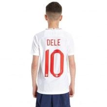 Детская домашняя форма Англии на ЧМ 2018 Деле Алли номер 10