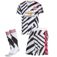 Комплект детской третьей формы Ман Юнайтед 2020-2021
