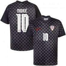 Гостевая футболка Хорватии Лука Модрич ЕВРО 2020-21