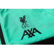 Мятный спортивный костюм Ливерпуля 2021-2022 герб клуба