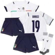 Детская четвертая форма Италии Бонуччи ЕВРО 2020-21