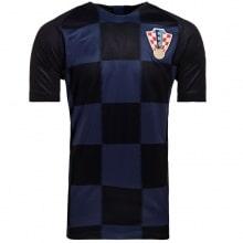 Гостевой комплект детской формы Хорватии на ЧМ 2018 футболка