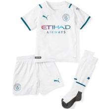 Детская гостевая форма Манчестер Сити 2021-2022