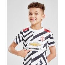 Комплект детской третьей формы Манчестер Юнайтед 2020-2021 на ребенке