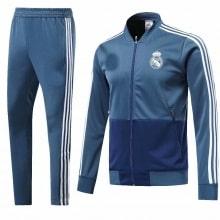 Взрослый синий костюм Реал Мадрид 18-19