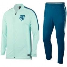 Взрослый салатово-синий костюм Атлетико Мадрид 18-19