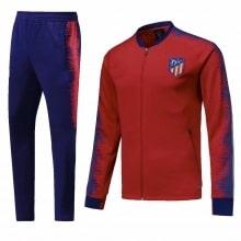 Взрослый сине-бордовый костюм Атлетико Мадрид 18-19