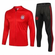 Взрослый красно-черный костюм Баварии 18-19